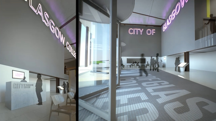 Cityvision City Of Glasgow College Animation